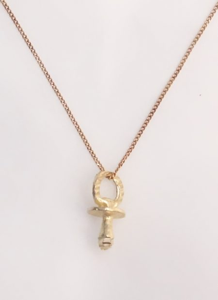 10k soother charm and chain