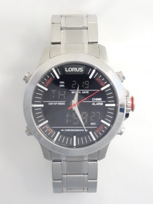 mens Lorus digital watch