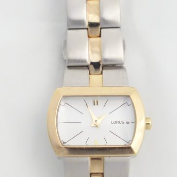 Ladies Two Tone Lorus Watch:  Tuesday's Triumphs