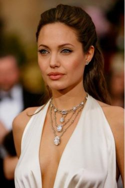 Angelina Jolie Becomes Athena