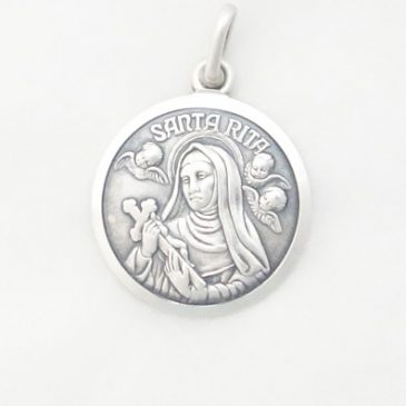 Sterling Silver St. Rita Medal: Tuesday's Triumphs