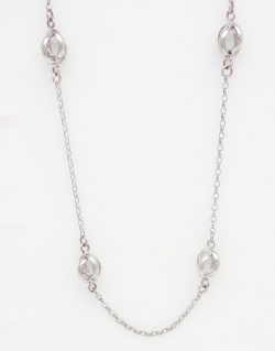 sterling silver 33 inch chain