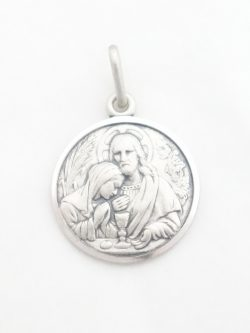 sterling silver first communion medal med