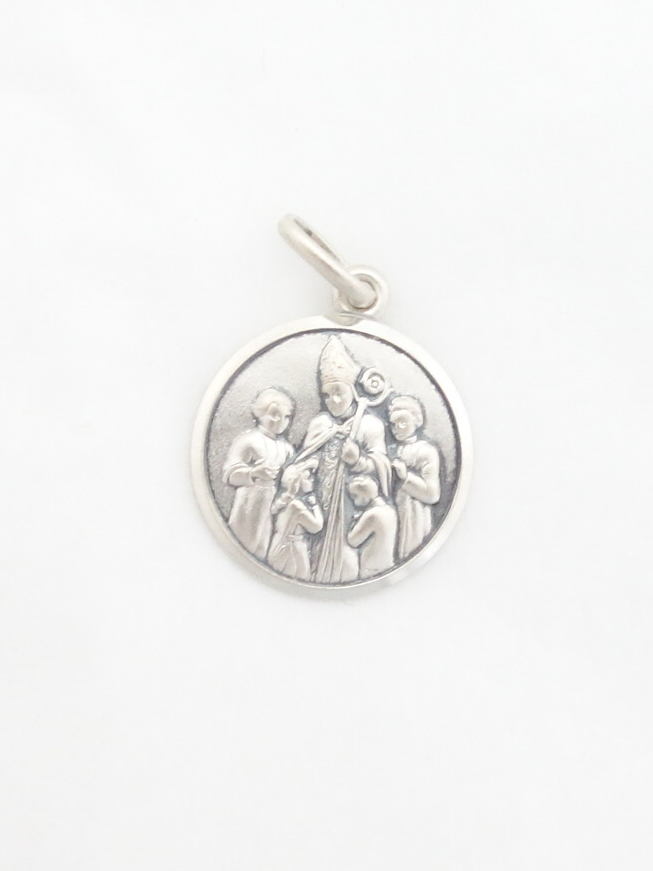 sterling silver confirmation medal med