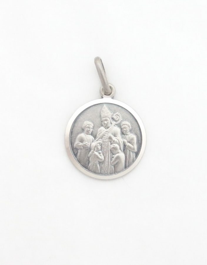 sterling silver confirmation medal sml