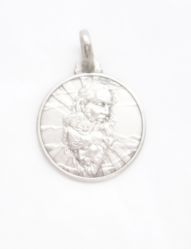 sterling silver trinity medal