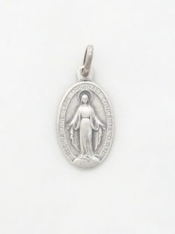 sterling siver Miraculous medal small