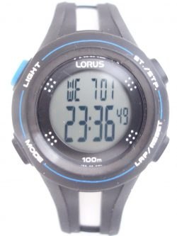 100m Digital Lorus Sports Watch