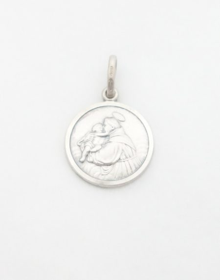 Sterling Silver St. Anthony Medal