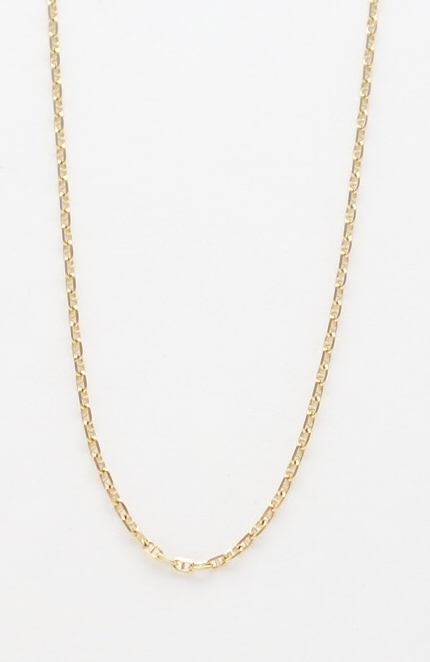 14k anchor link chain small
