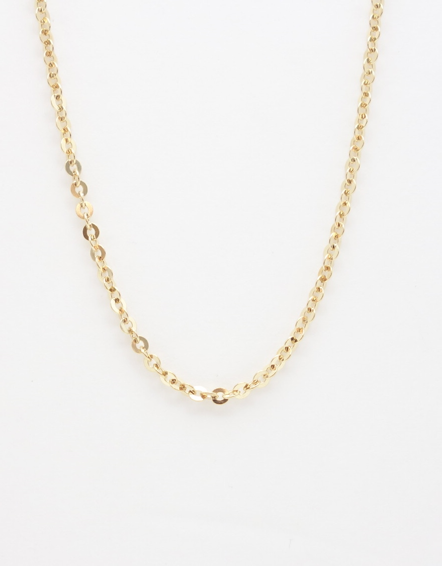 14k battuta chain large