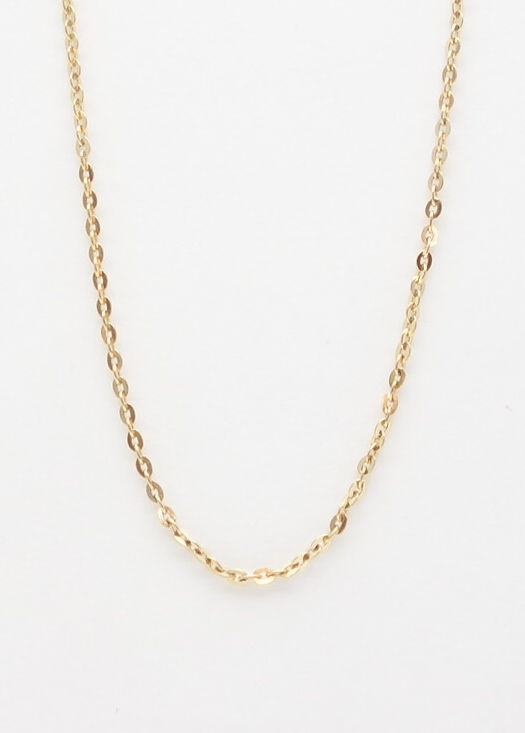 14k battuta chain medium