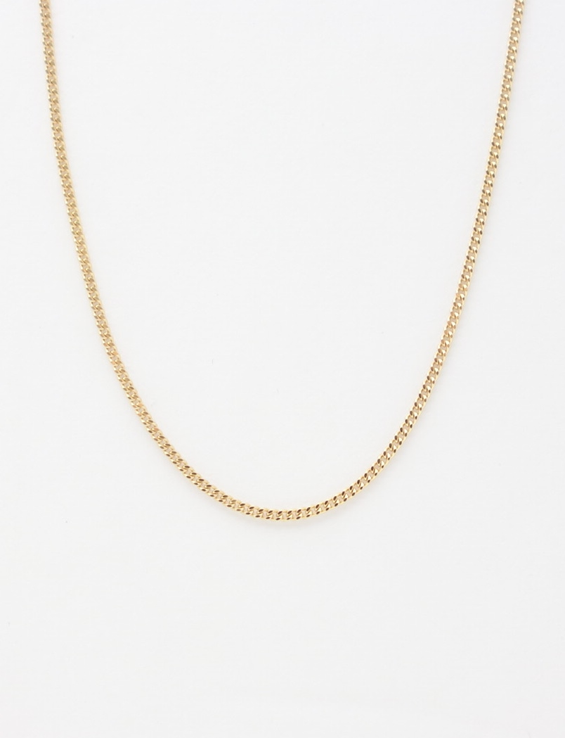14k curb chain large