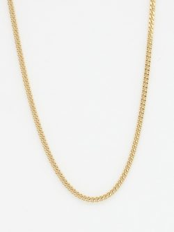 14k curb chain medium