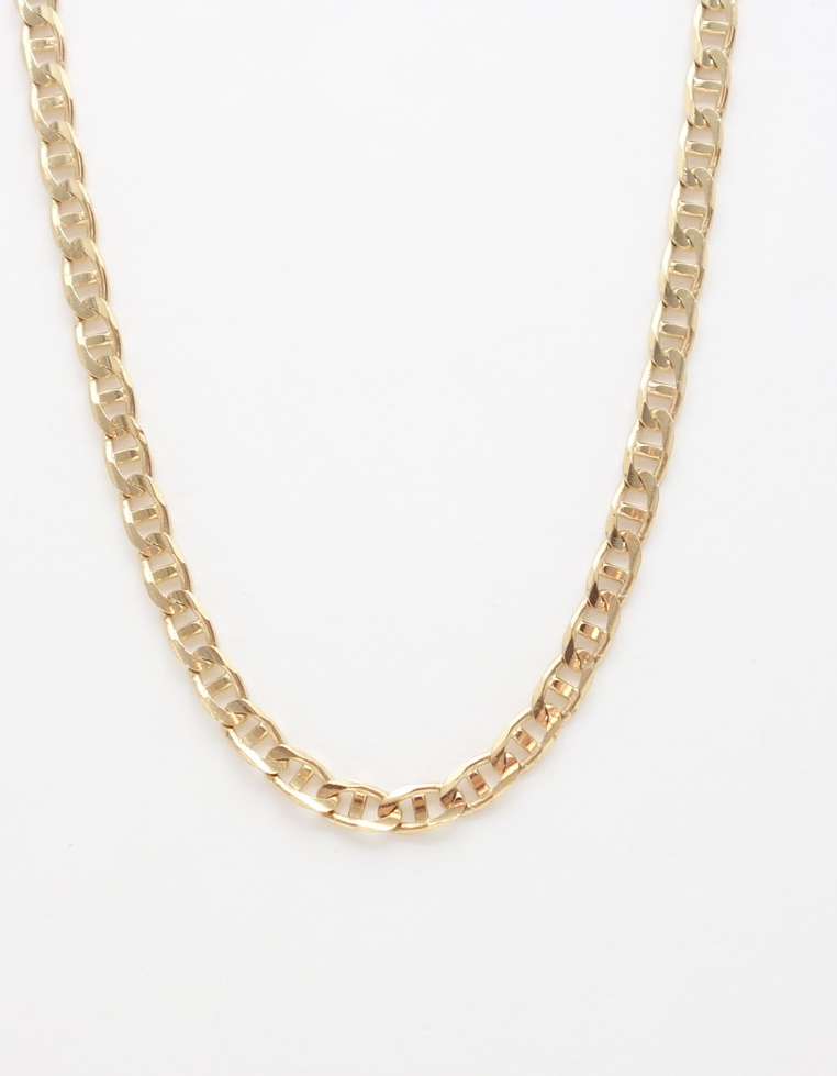14k gucci link chain large