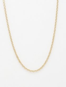 14k rolo chain small