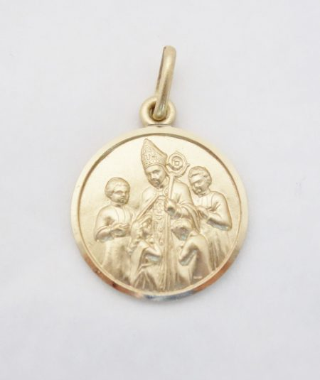 14k solid confirmatiaon medal lrg