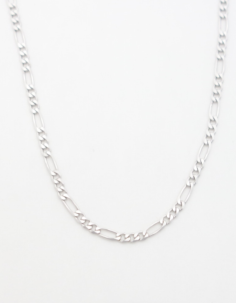14k-white-gold-figaro-chain