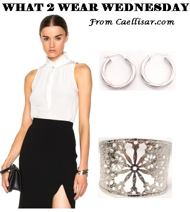 altuzarra white top