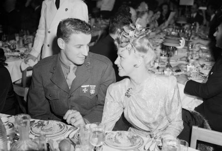 Ginger Rogers with Husband Private. Jack Briggs