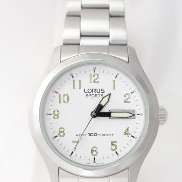 Lorus Watch With Luminous Hands & Numbers:  Friday's Focus