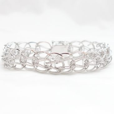 Sterling Silver Bracelet:  Tuesday's Triumphs
