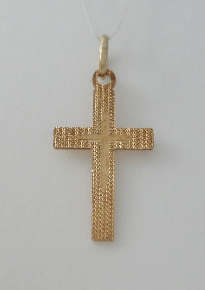 14k small cross