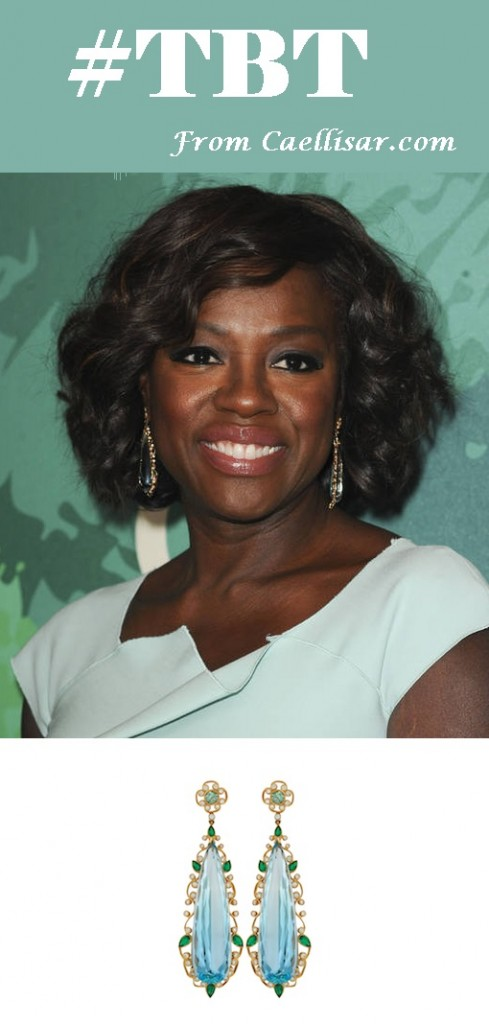 viola davis earrings