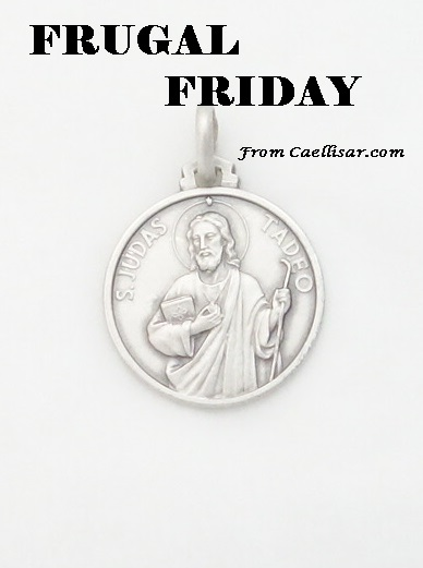 ff Sterling Silver St. Jude Medal