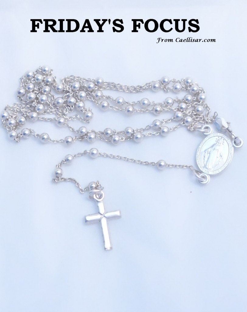 ff sterling silver rosary