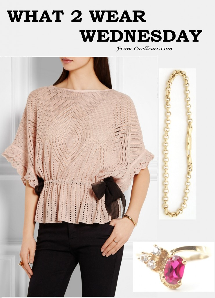 pink top valentino