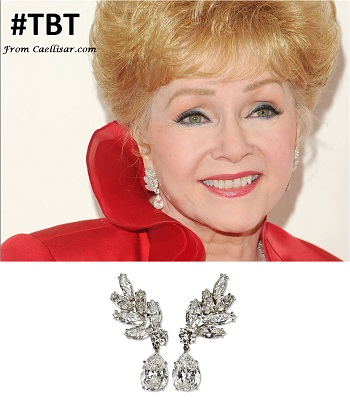debbie reynolds earrings