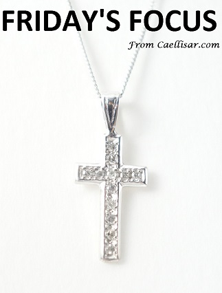 ff 14k diamond cross