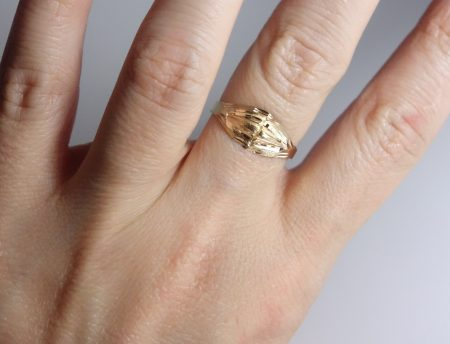 10k dome ring