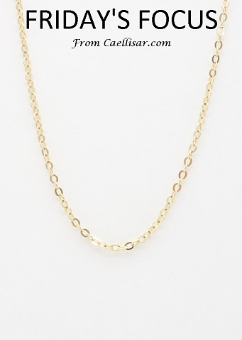 14k battuta chain medium 18'