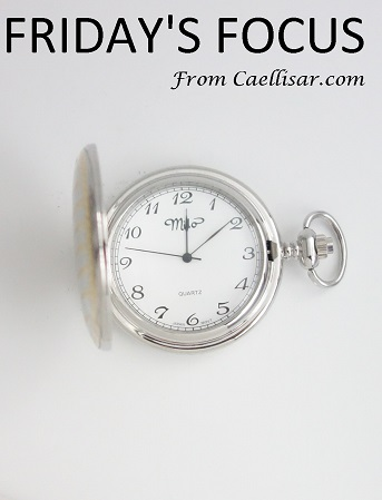 two tone pocket watch