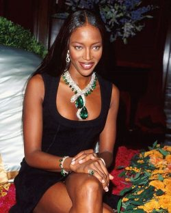 Supermodel Naomi Campbell Enchants In Cartier