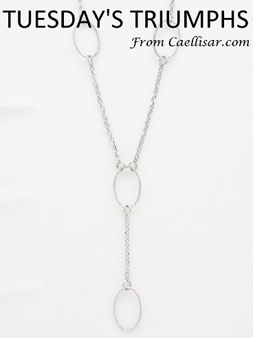 dainty sterling silver shiny chain