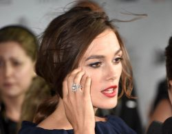 The Sparkling Star Was Keira Knightley