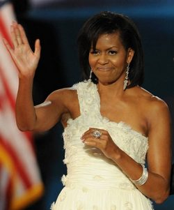 Michelle Obama Sparkled At The Ball