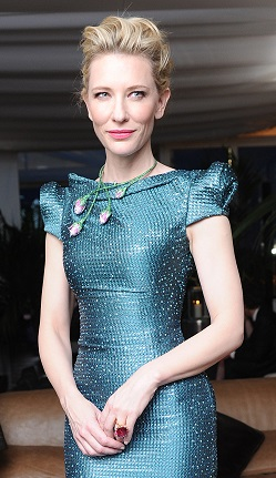 Cate Blanchett Sparkled In Chopard