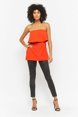 Trend: Tube Top. What 2 Wear Wednesday