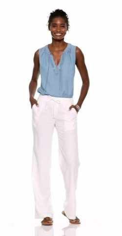 Trend: White Pants. What 2 Wear Wednesday