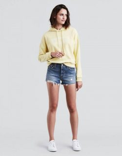 Trend: Jean Shorts.  What 2 Wear Wednesday