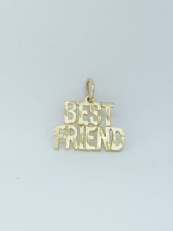 10k best friend charm simple